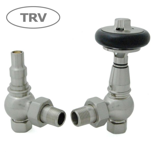 AMB-SN Amberley radiator valves satin nickel