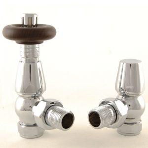 BEN-C Bentley radiator valve chrome thermostatic