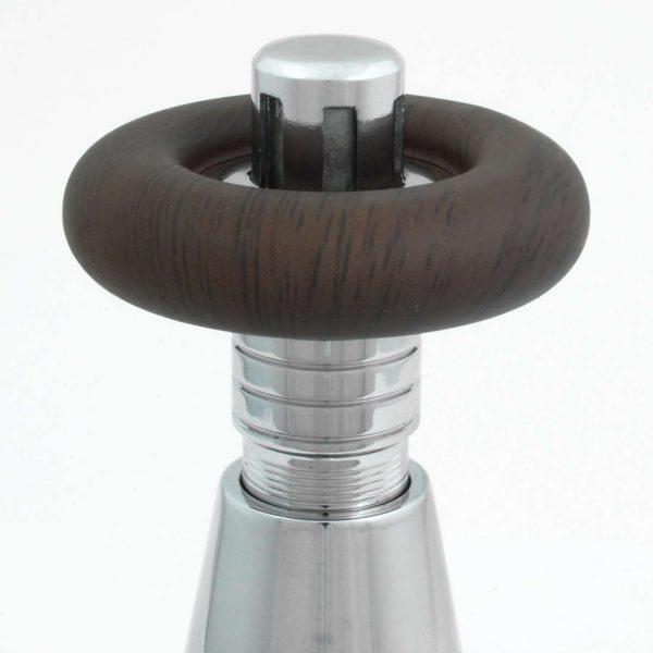 BEN-C Bentley radiator valve chrome wheelhead