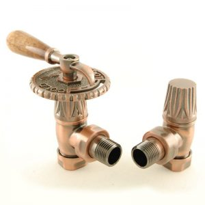 BEN-LEV-AC Bentley lever radiator valve antique copper
