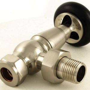 ETO-AG-SN Eton radiator valves manual satin nickel 1
