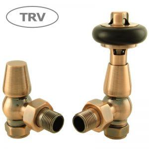 FAR-AG-AC faringdon radiator valve antique copper thermostatic