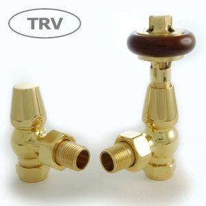 FAR-AG-B faringdon radiator valve brass thermostatic