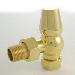 FAR-AG-B faringdon brass radiator valve lockshield