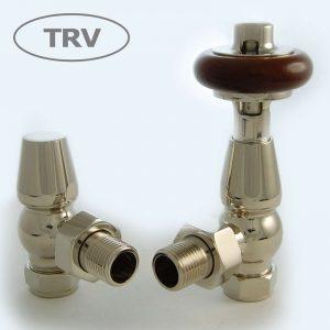 FAR-AG-N faringdon radiator valve nickel thermostatic