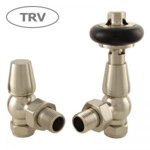 FAR-AG-SN faringdon radiator valve satin nickel thermostatic