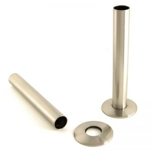 SLEEVE-130-SN radiator pipe sleeve kit Satin Nickel